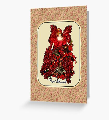 An Angel on My Shoulder ~ Blessings Greeting Card
