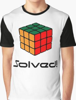 Rubix Cube - Solved Graphic T-Shirt