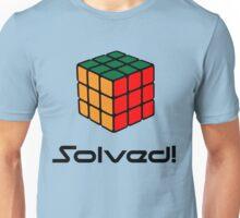 Rubix Cube - Solved Unisex T-Shirt