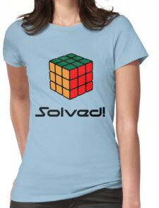Rubix Cube - Solved Womens Fitted T-Shirt