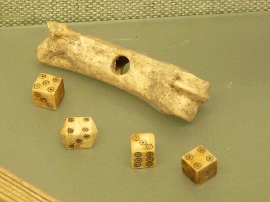 Medieval dice - Estonia by Kiriel