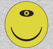 Smiley Cyclops Face Kids Clothes