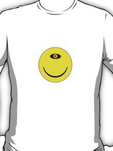 Smiley Cyclops Face T-Shirt