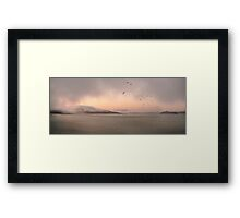 I Left My Heart Framed Print