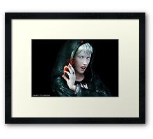 The Donor Framed Print