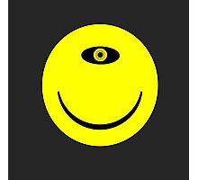 Smiley Cyclops Face Photographic Print