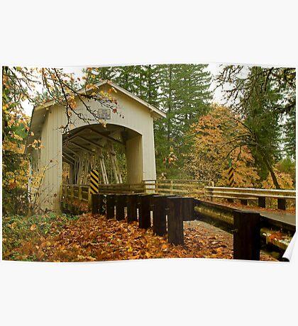 Bridge Over Linn County Poster