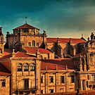 Spain. Santiago de Compostela. Monastery of San Martn Pinario. by vadim19