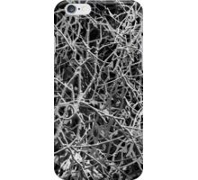 Black & White Crack Abstract iPhone Case/Skin