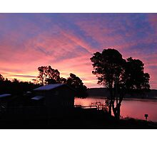 Burton, WA Sunrise Photographic Print
