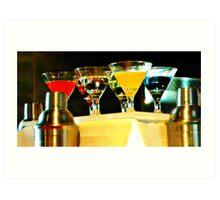 Martini Time Art Print