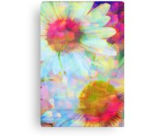 Blooms Through The Looking Glass Canvas Print