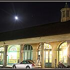 Moon Over Cafe du Monde by Mikell Herrick