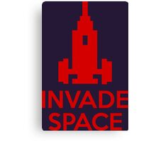 Invade Space Canvas Print
