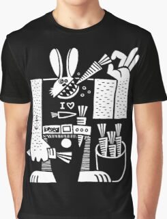 Carrots All Day Long Graphic T-Shirt