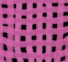 Pink Yarn Weave by TinaGraphics