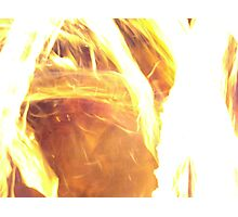 Deluge of Fire Photographic Print