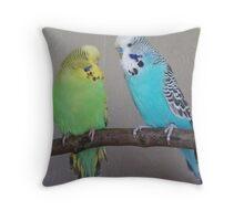 Just good friends Throw Pillow