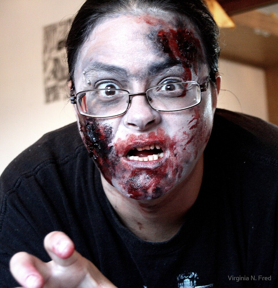 Zombified Gina by Virginia N. Fred