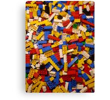 Lots of Lego Canvas Print