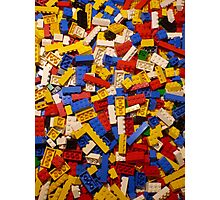 Lots of Lego Photographic Print