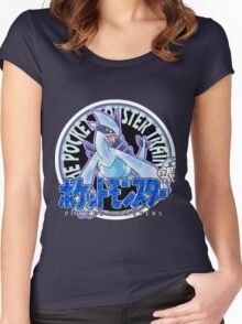 Pokemon Returns: Silver Women's Fitted Scoop T-Shirt