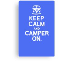 KEEP CALM Canvas Print