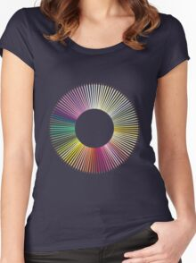 Colored Pencils Women's Fitted Scoop T-Shirt