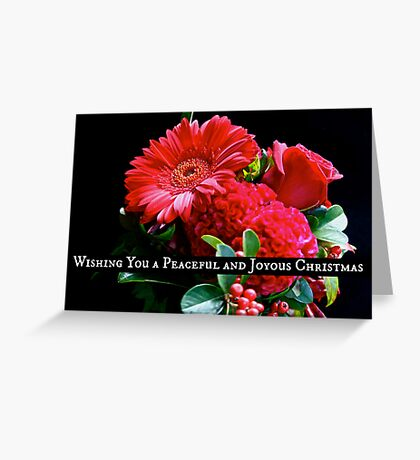 Kirsten Smith's 'Peace and Joy' Greeting Card