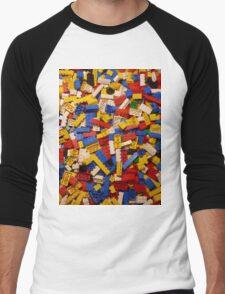 Lots of Lego Men's Baseball ¾ T-Shirt