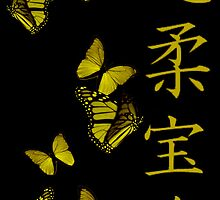 Golden Butterflies by creativenergy