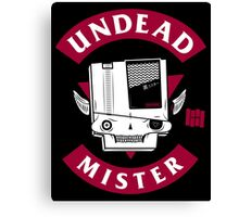 UNDEAD MISTER Canvas Print