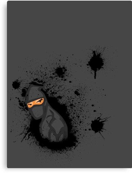 Ninja Splat! by Ven85