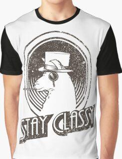 Stay Classy Llama Graphic T-Shirt