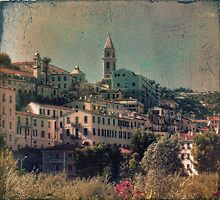 Postcard from Old Ventimiglia by Karen Lewis