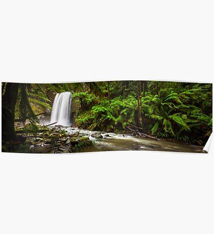 Hopetoun Falls in The Otway rainforest, Australia Poster