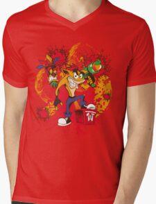 Bad-A Bandicoot Mens V-Neck T-Shirt