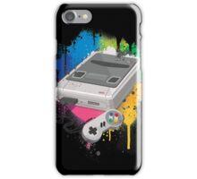 Gaming console splatter iPhone Case/Skin
