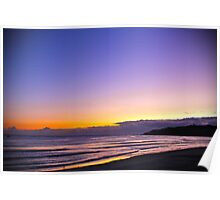 Byron Bay Main Beach Sunrise Poster
