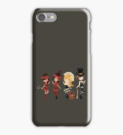 Piligrims and Indians iPhone Case/Skin
