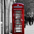 London Phone Box by Aconissa