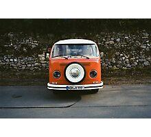 Hippy Bus Photographic Print