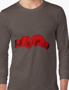 Boxing Gloves Long Sleeve T-Shirt