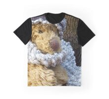 Puppy In A Shawl Graphic T-Shirt
