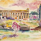 Paestum In Spring by Barbara Pommerenke
