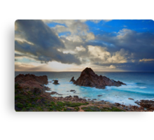 Storm Clouds Over Sugarloaf Canvas Print