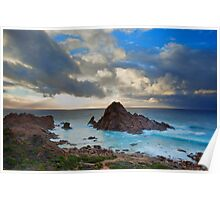 Storm Clouds Over Sugarloaf Poster