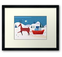 Christmas Is Coming! Framed Print