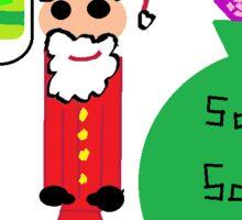 Santas Sack Sticker