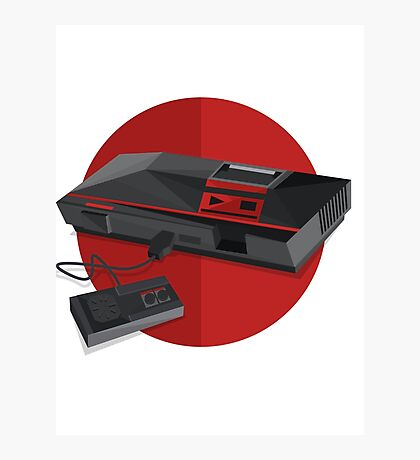 Game console Japan Photographic Print